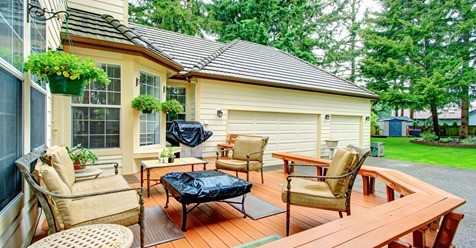deck curb appeal