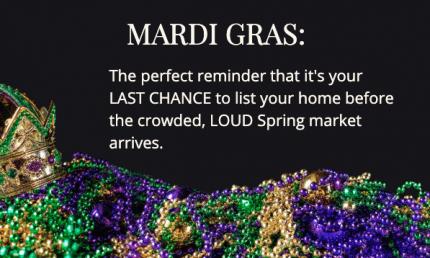 Mardi Gras Reminder